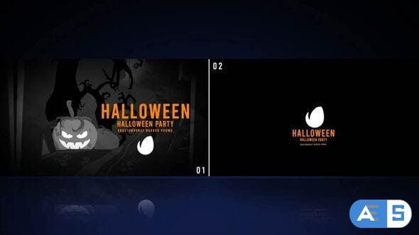 Videohive Halloween Logo 33872767