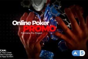 Videohive Online Poker App Promo & Poker Intro Premiere Pro 33975402