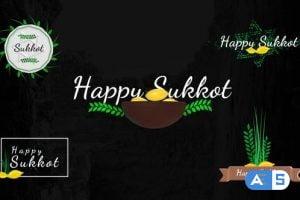 Videohive Sukkot Titles – Jewish Holiday 33756496