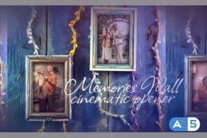 Videohive Memories Wall Cinematic Opener 33753065