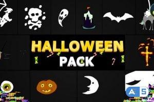 Videohive – Halloween Elements | DaVinci Resolve – 34241369