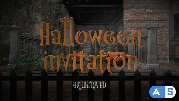 Videohive Halloween Party Invitation 34083331