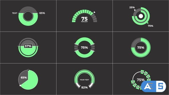 Videohive Circle Infographic 34098930