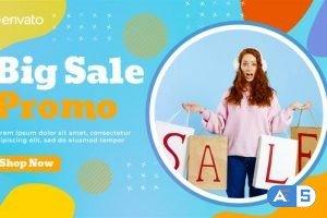 Videohive – Colorful Sale Promo   MOGRT – 34107113