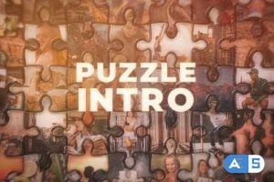 Videohive Cinematic Puzzle Intro 34194374