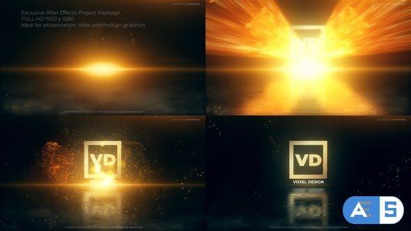 Videohive – Vertical Impact Logo Drop – 34111391