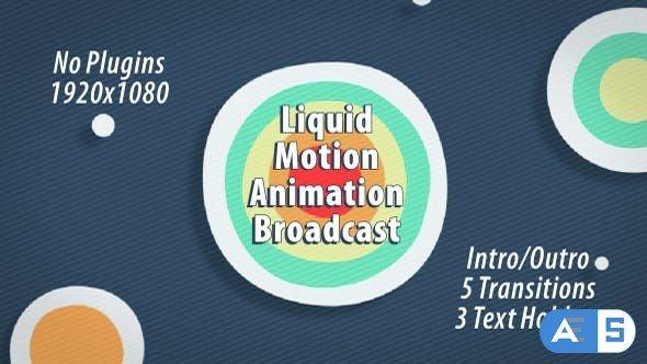 Videohive Liquid Motion Animation Broadcast 14782390