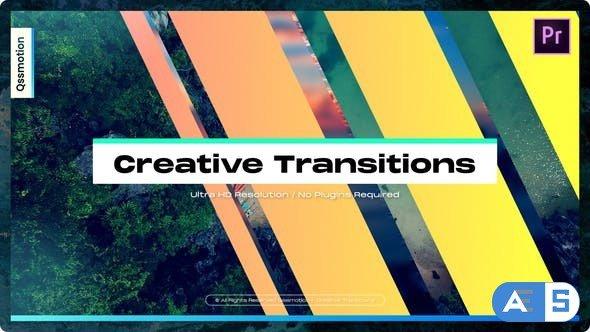 Videohive – Creative Transitions For Premiere Pro – 34320546