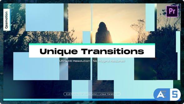 Videohive – Unique Transitions For Premiere Pro – 34321023