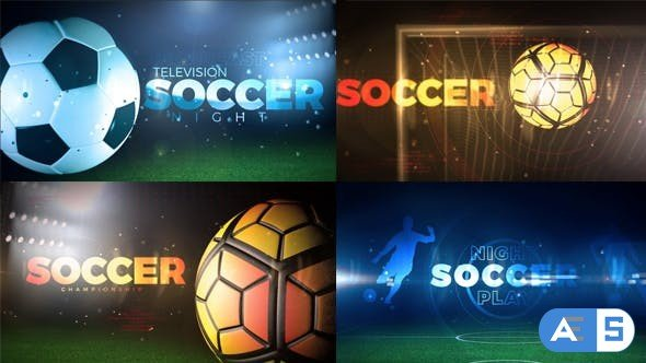 Videohive Soccer Opener 20621389