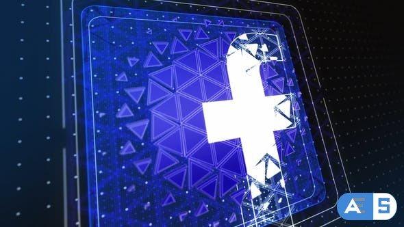 Videohive Triangle Logo Reveal 34362733