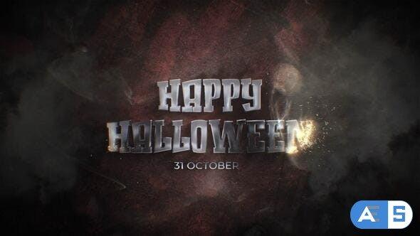 Videohive Halloween ID 34372979