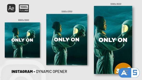 Videohive Instagram Dynamic Opener 34303377