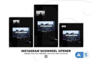 Videohive Instagram Showreel Opener 34437619