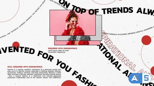 Videohive Trendy Fashion Slideshow 34437269
