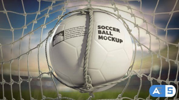 Videohive Soccer Scoring Logo Reveal Intro Opener Frontal 34424625
