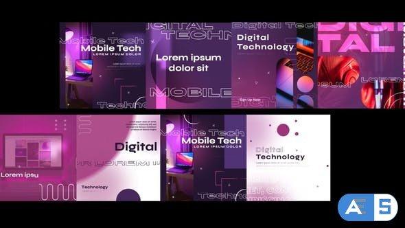 Videohive Digital Technology Post Social Media 34418604