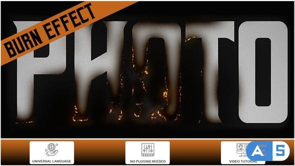 Videohive Burn Effect 34418566