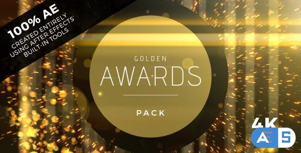 Videohive Golden Awards Event Pack 19360174