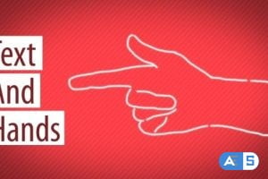 Videohive Text And Hands 14327990