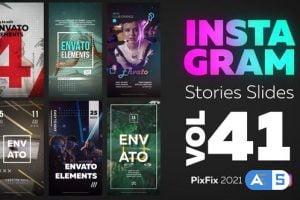 Videohive Instagram Stories Slides Vol. 41 34418628