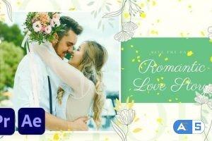 Videohive Romantic Beautiful Slideshow 34127461