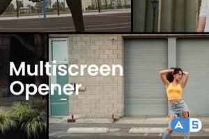 Videohive Minimal Multiscreen Opener 34066559