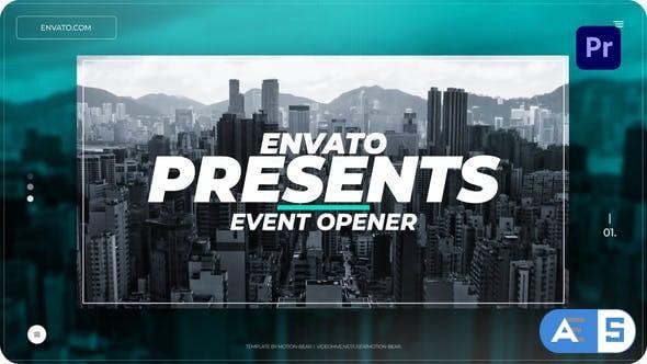 Videohive Event Opener for Premiere Pro 34323880