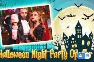 Videohive Halloween Night Party Opener 34044276