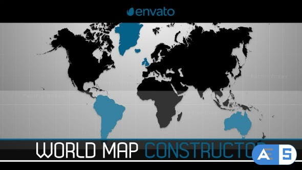 Videohive World Map Constructor 12910243