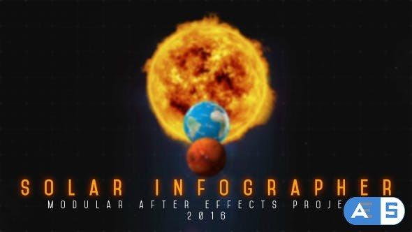Videohive Solar Infographer 17556385