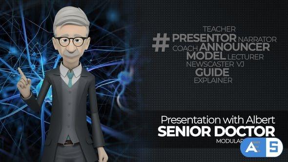 Videohive Presentation With Albert: Senior Doctor 22787484