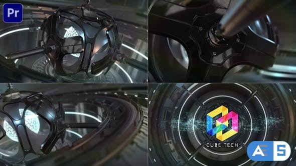 Videohive – SciFi Cyber Tech Logo_Premiere Mogrt – 34251570