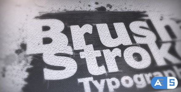Videohive Brush Stroke Typography 9184479