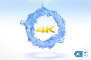 Videohive Circling Liquid Logo Reveal- 4k 24781859