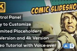 Videohive Comic Slideshow Opener 19298254