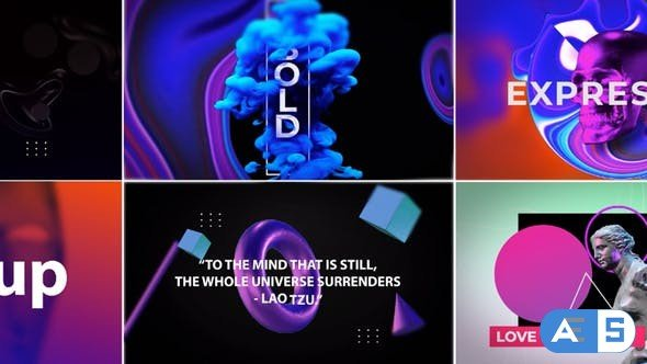 Videohive Abstract Titles V5 | Confusion 33651859