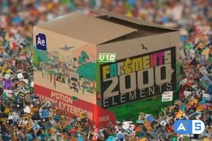 Videohive Fragments | 2000+ Animated 2D Elements 34118223