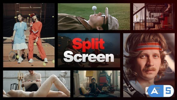 Videohive Split Screen Intro 34153793