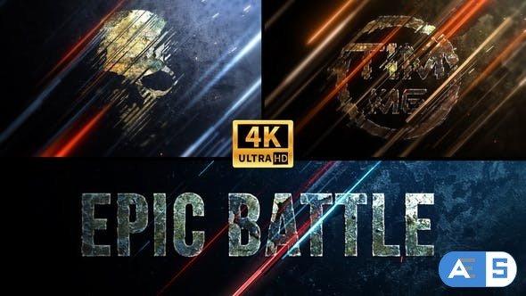 Videohive Epic Battle Logo 4K 33867321