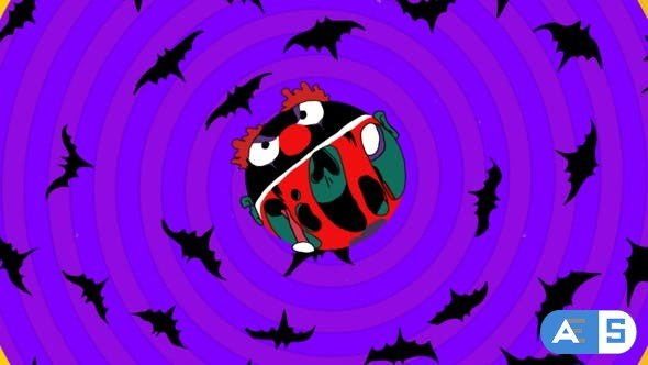 Videohive Halloween Logo Reveal 34395870