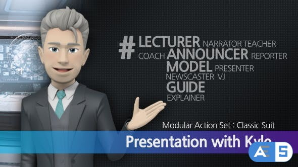 Videohive Presentation With Kyle: Classic Suit 17249554