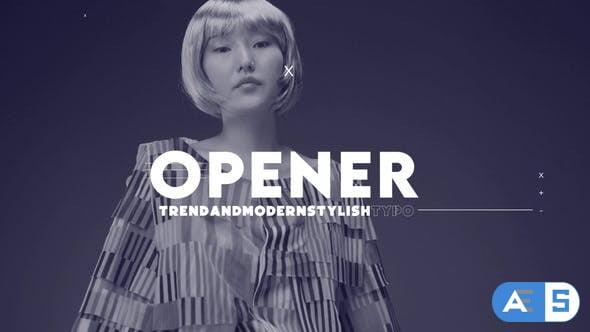 Videohive – Fashion Trendy Intro – 34222173