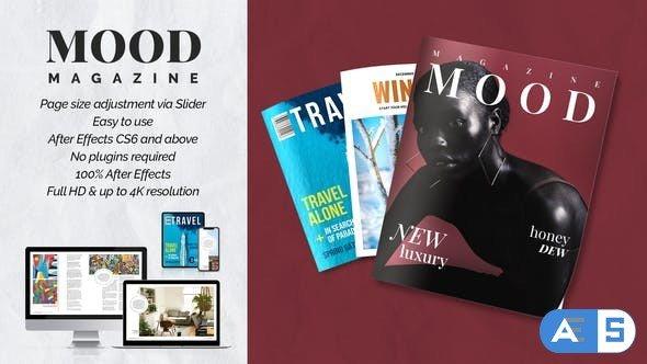 Videohive Mood Magazine Promo 34054293