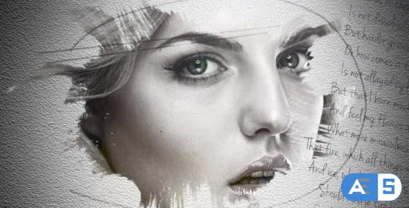 Videohive Slideshow Ink on Paper 10429798