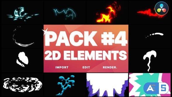 Videohive Elements Pack 04 | DaVinci Resolve 34337506