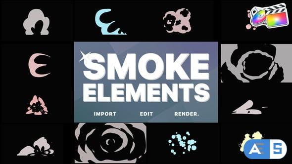 Videohive Smoke Elements | FCPX 34373115