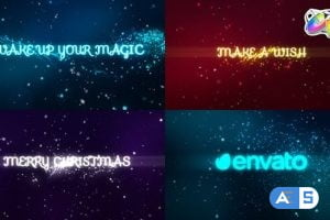 Videohive Holiday Magic Greetings | FCPX 34418724