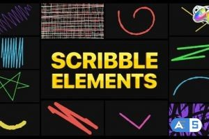 Videohive Scribble Elements | FCPX 34409816