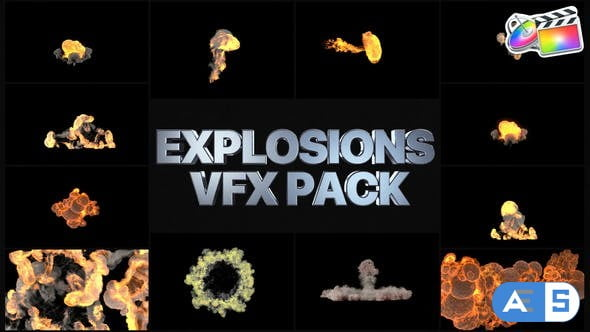 Videohive Explosions Pack   FCPX 34147117